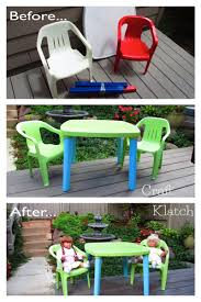 craft klatch garbage to gorgeous episode 14 kids table and