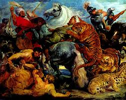best painting best baroque painting peter paul rubens painter tiger and lion