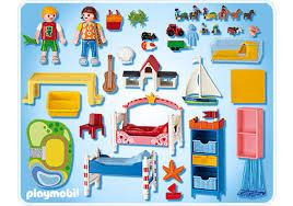 chambre d enfant playmobil chambre des enfants avec lits décorés 5333 a playmobil