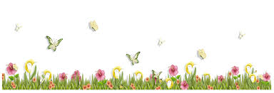 grass with butterflies and flowers png clipart gallery