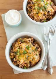 slow cooker chicken burrito bowls recipe chicken burrito bowl