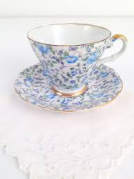 lefton china pattern vintage lefton china handpainted chintz pattern teacup and saucer
