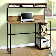 Computer Desk With Shelves Above Shelves Desk Above Desk Storage Storage Shelves Computer Desk With