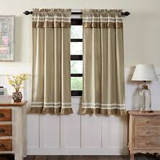 Black Ticking Curtains Less Than 40