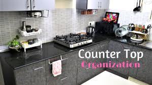 kitchen organization ideas countertop organization youtube