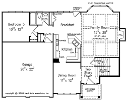 colonial style house plan 5 beds 3 00 baths 2361 sq ft plan 927 21