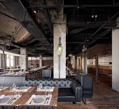 interior inspiration ideas for industrial restaurant designs