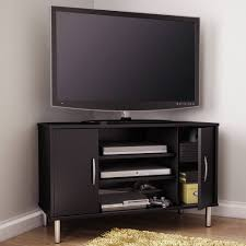 black corner fireplace tv stand gallery of with best design in new