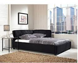 innovative full size bed frame priage black metal platform full