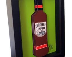 Southern Comfort Bottle Southern Comfort Etsy