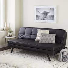 Futon Or Sleeper Sofa Abbyson Newport Faux Leather Futon Sleeper Sofa Free Shipping