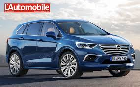opel meriva 2017 2016 opel zafira to share its platform with the peugeot 3008