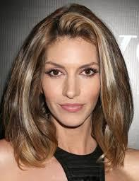shoulder length hairstyke oval face photo medium length hair cut for long face girls perfect medium