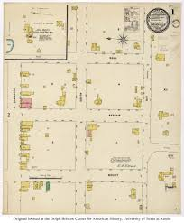 Fort Worth Map Sanborn Maps Of Texas Perry Castañeda Map Collection Ut