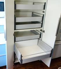 add drawer runners to billy shelves for pull out ikea hackers