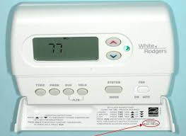 white rodgers thermostat series programmable digital thermostat