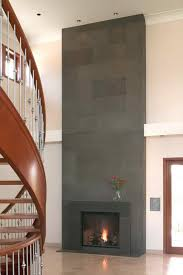 Wooden Spiral Stairs Design Fireplace Contemporary Home Design With Wooden Spiral Stair And