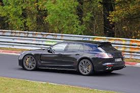 electric porsche panamera 2018 porsche panamera sport turismo wagon spotted with retractable