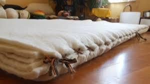 new natural mattress design the layered wool felt bed live
