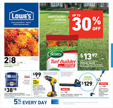 lowes open on thanksgiving 2014 lowe u0027s weekly ad september 28 october 4 2017
