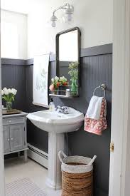 wainscoting bathroom ideas best 25 black wainscoting ideas on guest bathroom
