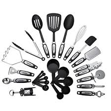Kitchen Utensils And Tools by Amazon Com 25 Piece Kitchen Utensils Set Cooking Tools