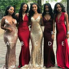 bridesmaid gowns affordable mismatched mermaid bridesmaid dresses cheap