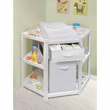 baby changing table basket badger basket 22009 diaper corner baby changing table w her and