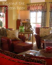 christmas home tour family room beyond the screen door