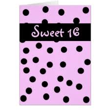 pink sweet 16 greeting cards zazzle