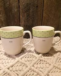 rae dunn polka dot sip mugs mercari buy u0026 sell things you love
