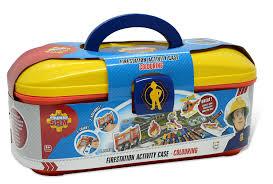 fireman sam firestation activity case amazon uk toys u0026 games