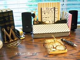 Desk Accessories And Organizers by A Stroll Thru Life Kate Spade Inspired Desk Accessories