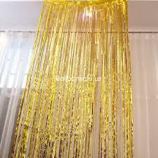 Gold Metallic Curtains Metallic Fringe Curtains Uk Glif Org