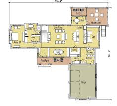 100 one story open floor house plans single story house