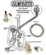 les paul wiring kit ebay