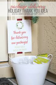 thank you idea for package delivery free printable