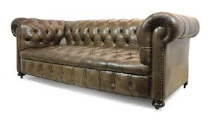 chesterfield sofa beds leather button seat chesterfield sofa 1950s for sale at pamono