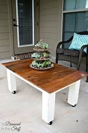 diy outdoor coffee table outdoor coffee table