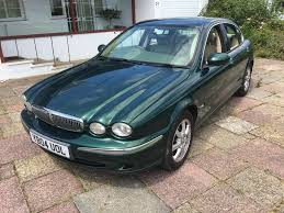 jaguar x type 2 2l diesel british racing green leather seats