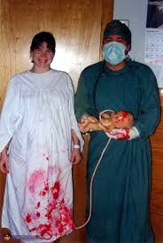 delivery room couples halloween costume