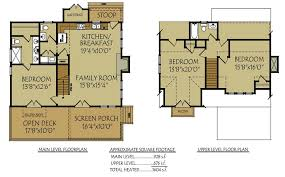 cottage floor plans small small bungalow cottage house plan with porches and photos
