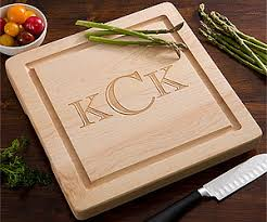 monogramed cutting boards personalized cutting boards personalizationmall