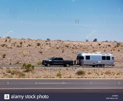 Arizona travel and transport images Pickup towing travel trailer on i 10 in southeastern arizona one jpg