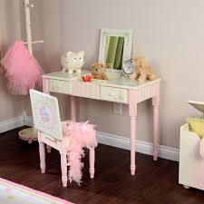 Flip Top Vanity Table Girl Vanity Sets Home Vanity Decoration