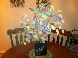 Tree Branch Centerpiece Create Projects By Jamie Scrapbook Paper Tree Branch Centerpiece