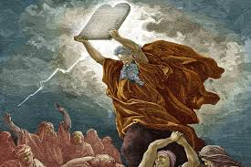 moses and the ten commandments bible story lessons