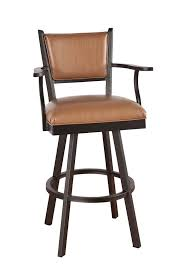 Metal Swivel Bar Stool Swivel Bar Stools With Backs And Arms With Regard To The House