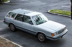 classic subaru wagon turbo sleeper 1987 plymouth reliant k wagon bring a trailer