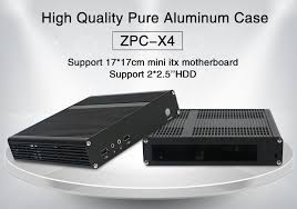 Case For Home Theater Pc by Cheap Aluminum Cases Slim Gaming Pc Rackmount Computer Mini Itx